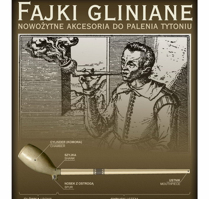 Fajki gliniane – nowożytne akcesoria dopalenia tytoniu