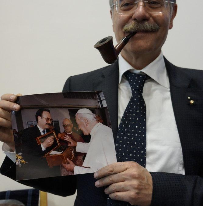Salvatore Amorelli fajkarz niezwykły