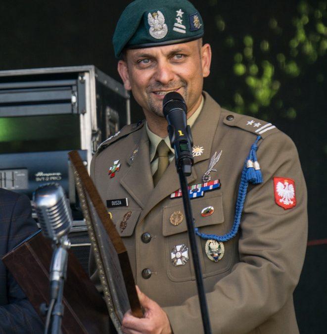 """""""Fajka Zaufania"""" dla ppłk. Duszy"""