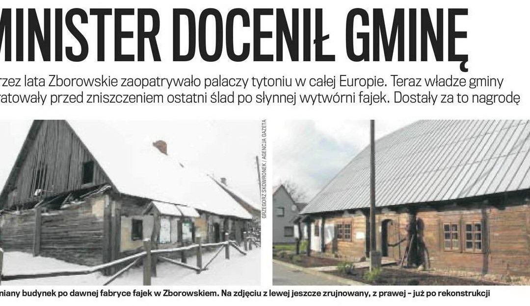 Fabryka fajek wZborowskiem uratowana