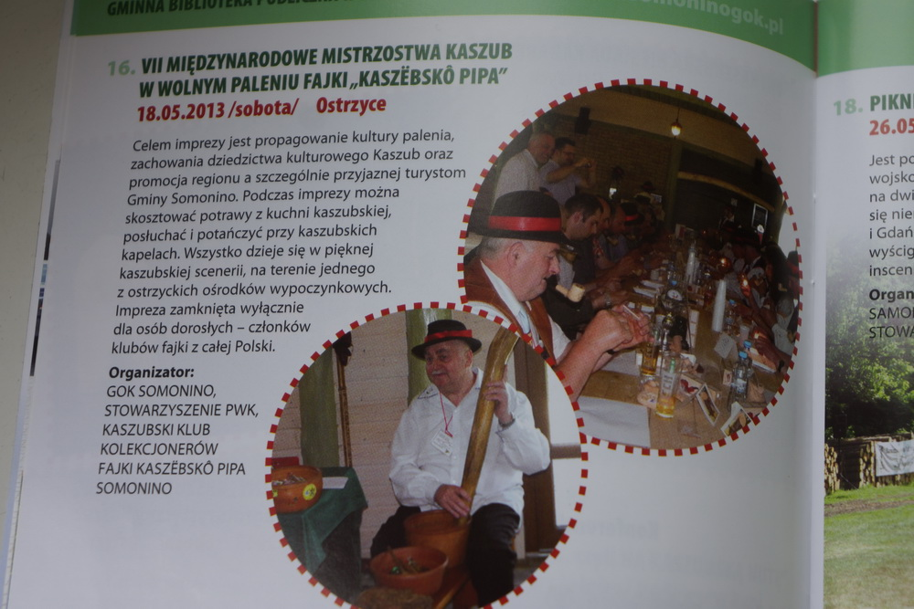 Kaszebsko Pipa czeka wOstrzycach