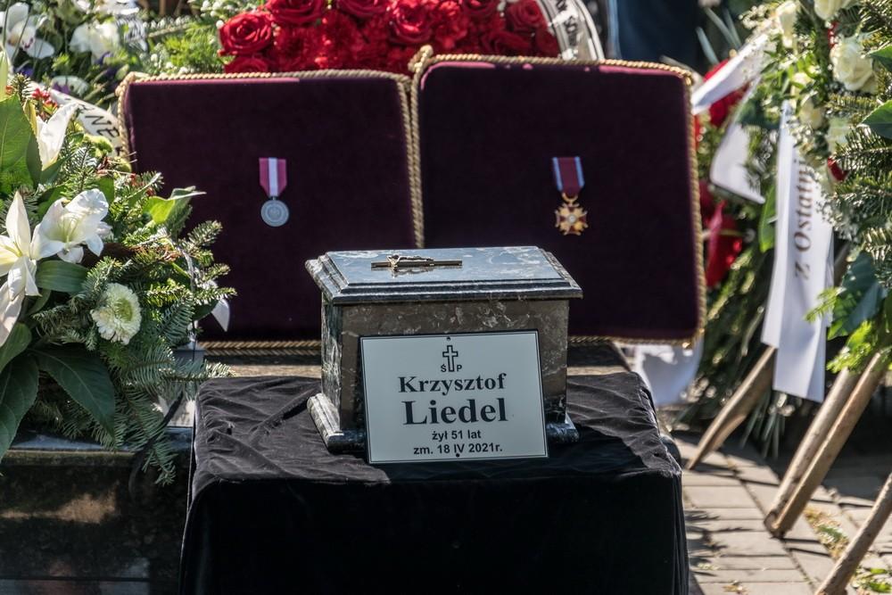 Ostatnia droga prezydenta Krzysztofa Liedela