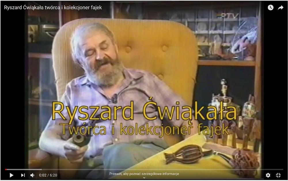 Ryszarda Ćwiąkały świat fajek